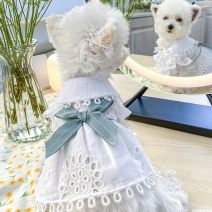 Pet clothing / raincoat currency skirt XS chest 26-30cm, body length 16-20cm, s-chest 31-35cm, body length 21-25cm, m-chest 35-39cm, body length 27-31cm, l-chest 41-45cm, body length 31-35cm, XL chest 48-52cm, body length 36-40cm PETCIRCLE princess Bow cut out skirt