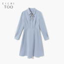 Dress Spring 2021 Blue grey 27 155/80A/S 160/84A/M 165/88A/L 170/92A/XL Mid length dress singleton  Long sleeves other middle-waisted Solid color Socket other routine 25-29 years old Type X Eichitoo / Aiju rabbit EQLCJ1L027A 71% (inclusive) - 80% (inclusive) other polyester fiber