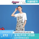 Dress Summer 2021 Bleached pattern 01 155/64A/S 160/68A/M 165/72A/L Mid length dress singleton  Sleeveless other middle-waisted Cartoon animation Socket A-line skirt other 25-29 years old Type A Eichitoo / Aiju rabbit EQLHJ2L001A More than 95% other cotton Cotton 100%