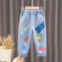 trousers Other / other neutral 80cm,90cm,100cm,110cm,120cm,130cm,140cm spring and autumn trousers leisure time There are models in the real shooting Casual pants Leather belt middle-waisted other Open crotch * Chinese Mainland