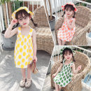Dress female Other / other Cotton 80% other 20% summer lady Dot cotton A-line skirt 3 months, 12 months, 6 months, 9 months, 18 months, 2 years old, 3 years old, 4 years old