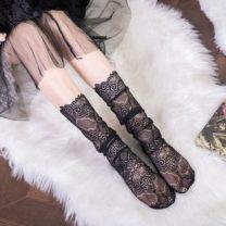 Socks / base socks / silk socks / leg socks female Other / other Average size White, black 12 pairs