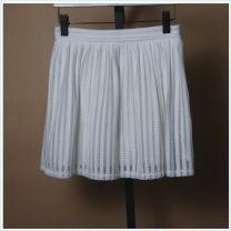 skirt Autumn of 2018 M white