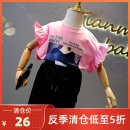 T-shirt Other / other female summer Crew neck Korean version No model nothing cotton Cotton 95% polyurethane elastic fiber (spandex) 5% Class B Quick drying 2, 3, 4, 5, 6, 7, 8, 9, 10, 11, 12, 13, 14, and over 14 years old Chinese Mainland