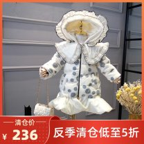 Down Jackets The cap is not detachable Dot polyester White duck down 90% Other / other Children, female 2, 3, 4, 5, 6, 7, 8, 9, 10, 11, 12, 13, 14 IB98972 Medium and long term Zipper shirt Polyester 100% princess Class B Polyester 100% Chinese Mainland