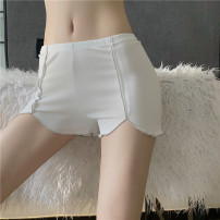 Leggings Spring 2021 Apricot, white, blue, black, pink, black + white, black + apricot, black + pink, black + blue, white + blue, white + pink Average size routine shorts LXJ2886 18-24 years old Other / other other 30% and below