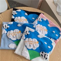 T-shirt White, blue, black, pink Average size Summer 2021 Short sleeve Crew neck easy routine commute other 30% and below 18-24 years old Other / other ysg8406 Three dimensional decoration