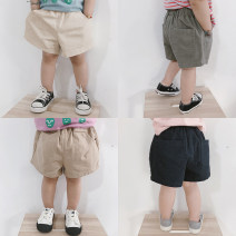 trousers Yi Ma male summer Pant leisure time There are models in the real shooting Casual pants Leather belt middle-waisted cotton Don't open the crotch Cotton 90% other 10% 12 months, 18 months, 2 years old, 3 years old, 4 years old, 5 years old, 6 years old, 7 years old, 8 years old Huzhou City