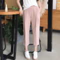 Casual pants Pink shorts, black shorts, beige shorts, pink pants, black pants, beige pants XS,S,M,L Summer 2020 trousers Wide leg pants High waist commute routine 25-29 years old 91% (inclusive) - 95% (inclusive) Korean version polyester fiber