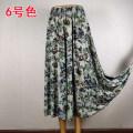 skirt Summer of 2019 XL [1'9-2'1 waist recommended], XXL [2'1-2'3 waist recommended], 3XL [2'3-2'5 waist recommended], 4XL [2'6-2'8 waist recommended] Color 1, color 2, color 3, color 4, color 5, color 6, color 7, color 8, color 9, color 10, color 11, color 12, color 13 longuette Versatile Decor