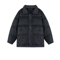 Cotton padded clothes Down cotton jacket [belt] M,L,XL,2XL,3XL Winter 2020 Other / other routine Long sleeves routine Single breasted commute stand collar routine Korean version 96% and above other other 18-24 years old