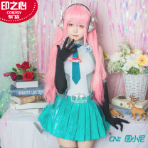 Cosplay women's wear suit Customized Over 14 years old Animation, games Tailor made The heart of seal Japan Super Sonico  Sonnet The heart of seal