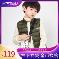 Down vest 90cm is smaller, 100cm is smaller, 110cm is smaller, 120cm is smaller, 130cm is smaller, 140cm is smaller, 150cm is smaller, 160cm is smaller, 170cm is smaller, one size is larger Ebaer / Yibei Imperial City other White duck down Class C Other 100% winter thickening 90% male nylon
