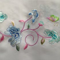 Fabric / fabric / handmade DIY fabric silk piece clothing Chinese style