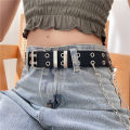 Belt / belt / chain Pu (artificial leather) female belt leisure time Single loop Middle aged youth Pin buckle Glossy surface Glossy surface 3.3cm alloy alone Pouie / Peier 110cm Autumn 2020