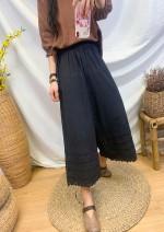 Casual pants White, black, khaki Average size Spring 2021 trousers Wide leg pants commute routine
