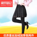 Leggings Autumn of 2018 Black, black One size fits all, 320G pants 2.3-2.5ft waist, 500g pants 1.8-2.4ft waist Plush trousers 18-24 years old Diane fujini