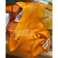 Dress Spring 2021 goods in stock One, two, three Short skirt singleton  Short sleeve