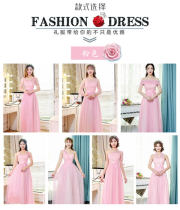 Dress / evening wear Wedding ceremony company annual meeting performing daily dating Large size (recommended 105-135 kg) average size (recommended 80-105 kg) Korean version longuette middle-waisted Spring 2017 Self cultivation One shoulder zipper Netting 18-25 years old ABCEDFG three quarter sleeve
