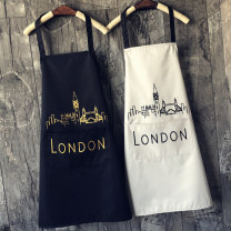 apron Sleeveless apron waterproof Simplicity PVC Household cleaning Average size public yes Solid color