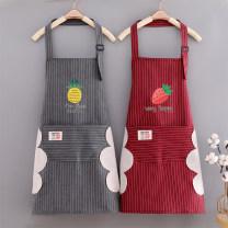 apron Sleeveless apron waterproof Korean version pure cotton Personal washing / cleaning / care Average size ZIMU-122 Mandameng public yes like a breath of fresh air