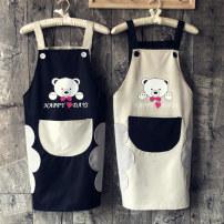 apron Sleeveless apron waterproof Japanese  PVC Household cleaning Average size public yes Cartoon