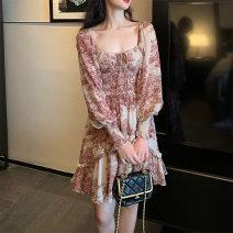 Wedding dress Summer 2021 Black, maroon S,M,L,XL F954 Yijiao 96% and above polyester fiber