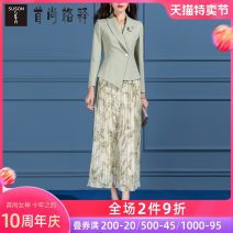Fashion suit Spring 2021 S M L XL XXL XXXL green 25-35 years old Susongeth / shoushangge interpretation SC287 96% and above Polyester 98% other 2% Same model in shopping mall (sold online and offline)