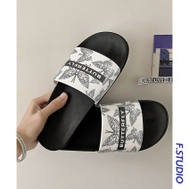 slipper Other / other PU 35-36,37-38,39-40,41-42,43-44,45-46 White butterfly, white butterfly sea, white butterfly mandarin duck, black and white butterfly, black butterfly, black butterfly sea, black butterfly mandarin duck summer Flip flop daily Flat heel The trend of youth ventilation