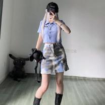 Fashion suit Summer 2021 S, M white , blue , Pink white , Blue black