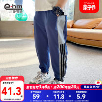 trousers Little elephant ham male 110cm 120cm 130cm 140cm 150cm 160cm Blue Navy spring and autumn trousers There are models in the real shooting Casual pants Leather belt middle-waisted Don't open the crotch Polyamide fiber (nylon) 90% polyurethane elastic fiber (spandex) 10% HC2802 Class B HC2802