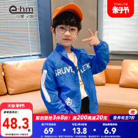Plain coat Little elephant ham male 110cm 120cm 130cm 140cm 150cm 160cm blue spring and autumn There are models in the real shooting routine nothing other K30212 Polyamide fiber (nylon) 100% Class C Summer 2021