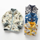 Plain coat Other / other male 90cm,100cm,110cm,120cm,130cm,140cm,150cm Gray, green, blue, yellow, snowflake, deer heart, camouflage, car white, gray camouflage, dinosaur beige, swan blue, large style spring and autumn Korean version Zipper shirt No model Plush nothing Cartoon animation other other