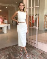 Fashion suit Spring 2021 XS,S,M,L Yellow, apricot white