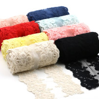 lace Black [one meter] white [one meter] pink [one meter] light blue [one meter] dark blue [one meter] red [one meter] light yellow [one meter] Beige [one meter] meat powder [one meter] Dijie home textile DH12