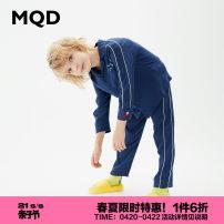 Home suit MQD 110cm 120cm 130cm 140cm 150cm 160cm Viscose (viscose) 100% 3 years old, 4 years old, 5 years old, 6 years old, 7 years old, 8 years old, 9 years old, 10 years old, 11 years old, 12 years old other Class B Spring 2020