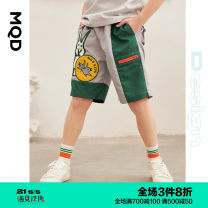 trousers MQD male 110cm 120cm 130cm 140cm 150cm 160cm Zhonghui Zhonghui (pre-sale) is expected to start delivery on April 1, a 9-year-old store summer Pant leisure time There are models in the real shooting Casual pants Leather belt middle-waisted polyester Don't open the crotch 100.00% polyester