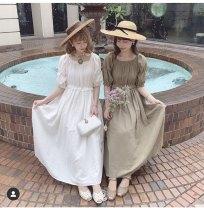 Dress Summer 2020 Green, white Average size