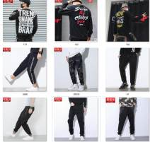 Casual pants Mipinger Youth fashion 27/28/S 29/30/M 31/32/L 33/34/XL 35/36/XXL 37/38/XXXL 39/40/XXXXL 41/42/XXXXXL 43/44/XXXXXXL 46/7XL routine trousers Other leisure easy Micro bomb X7005 winter teenagers tide 2018 middle-waisted Little feet Other 100% Haren pants Pocket decoration cotton