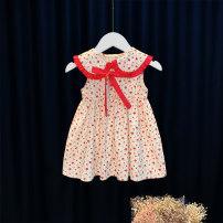 Dress gules female Other / other 80cm,90cm,100cm,110cm Cotton 95% other 5% summer princess Skirt / vest other Cotton blended fabric Princess Dress B2867 12 months, 6 months, 9 months, 18 months, 2 years, 3 years, 4 years