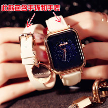 Wristwatch Mary Shop warranty quartz movement  female genuine leather domestic 3ATM alloy Mineral reinforced glass mirror 7mm 40mm Cherry powder Fashion Black passion red off white purple five thousand two hundred and fifty-eight circular fashion Pointer type Pin buckle ordinary ordinary