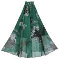 skirt Summer 2021 S,M,L,XL J03 # Yilu2 green flower Versatile High waist 51% (inclusive) - 70% (inclusive) other