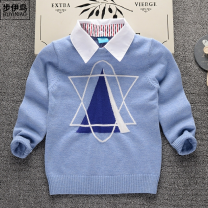 Sweater / sweater cotton Condom Troy 18 months, 2 years old, 3 years old, 4 years old, 5 years old, 6 years old, 7 years old, 8 years old other nothing male Crew neck 72tl5 routine Other 100% Ordinary wool leisure time Winter of 2019 No model in real shooting Class B