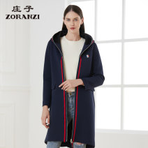 Windbreaker Autumn of 2019 160/84A 165/88A 170/92A Long sleeves routine have more cash than can be accounted for commute zipper Hood routine Solid color Straight cylinder Zoranzi Zhuangzi 35-39 years old 71% (inclusive) - 80% (inclusive) polyester fiber