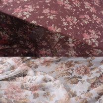 Fabric / fabric / handmade DIY fabric silk 1 piece is 0.1M light color, 1 piece is 0.1M dark color Loose shear rice Plants and flowers printing and dyeing clothing Chinese style Hubu shop Chinese Mainland