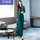 Fashion suit Spring 2020 S M L XL XXL Black green 25-35 years old Sha Yuqi syq19c5A39-086125 71% (inclusive) - 80% (inclusive) polyester fiber Polyester 100% Pure e-commerce (online only)