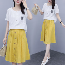 Fashion suit Summer 2021 M,L,XL,3XL,2XL Picture color 18-25 years old 8226# 81% (inclusive) - 90% (inclusive) cotton