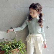 T-shirt Other / other 5,7,9,11,13 female spring and autumn Long sleeves Crew neck leisure time There are models in the real shooting cotton other Other 100% Class A other 2 years old, 3 years old, 4 years old, 5 years old, 6 years old