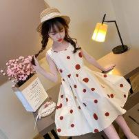 Dress Off white female A.LAAR 110cm 120cm 130cm 140cm 150cm 160cm Other 100% summer Korean version Skirt / vest Dot other A-line skirt other Summer 2021 9 months, 3 years, 4 years, 5 years, 6 years, 7 years, 8 years, 9 years, 10 years, 11 years, 12 years, 13 years, 14 years Chinese Mainland