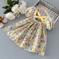 Dress As shown in the picture female Other / other 80cm,90cm,100cm,110cm,120cm,130cm Other 100% summer princess Short sleeve Broken flowers cotton A-line skirt 12 months, 18 months, 2 years old, 3 years old, 4 years old, 5 years old, 6 years old, 7 years old, 8 years old